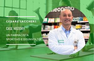 Cesare Iaccheri: un farmacista sportivo e disinvolto!