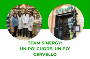 Team Sinergy: un po' cuore, un po' cervello.